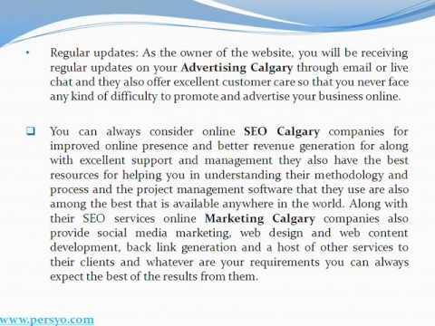 Advertising Calgary, Marketing Calgary