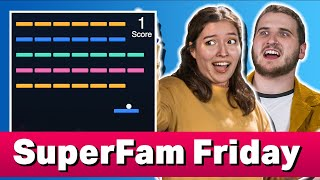 Trying to Win a Minigame Contest! | SuperFam Friday