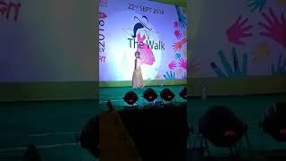 The walk kids fashion show, Ragini sarmah