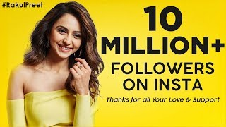 Rakul reaches 10 million followers on Instagram..