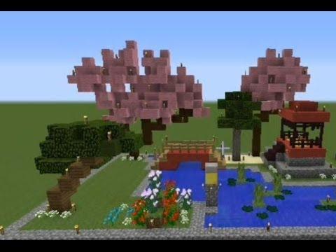 gallery for minecraft japanese garden - Minecraft Japanese Rock Garden