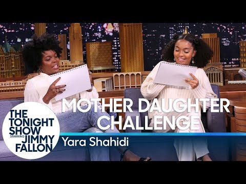 Mother Daughter Challenge with Yara Shahidi