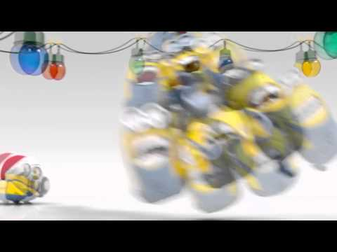 Funny Christmas Minions: A Holiday Greeting via Letters from Santa