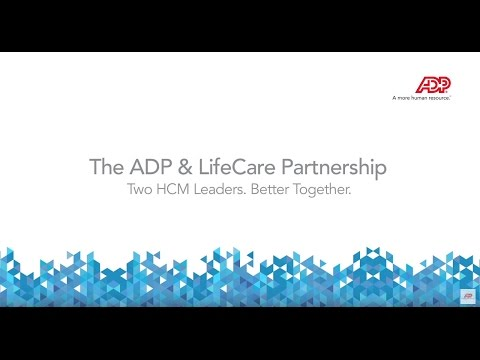 ADP Marketplace and LifeCare partner to create great solutions.