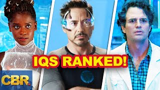 20 Marvel Heroes With High IQ