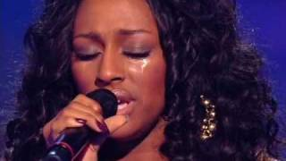 X factor final results and Alexandra's final performance