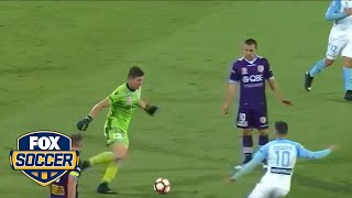 A-League goalkeeper makes an embarrassing blunder  | FOX SOCCER