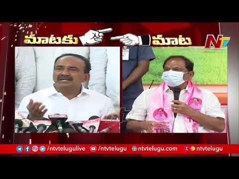 War of words between Etela Rajender and Minister Koppula Eshwar