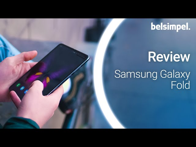 Belsimpel-productvideo voor de Samsung Galaxy Fold Black