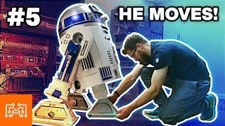 Making R2-D2 Part 5 // Feet & Motion | I Like To Make Stuff