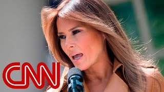Melania Trump weighs in on border separations
