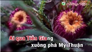 Về Miền Tây karaoke song ca với Hoàng Định