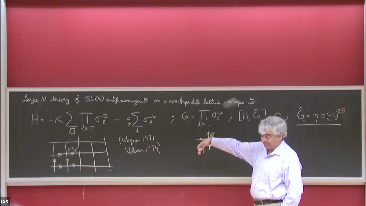 The Quantum Phases of Matter XII: Z2 gauge theories - Subir Sachdev