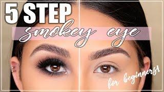 Perfect Smokey Eye in 5 Steps?! Smokey Eye Tutorial for Beginners | Roxette Arisa