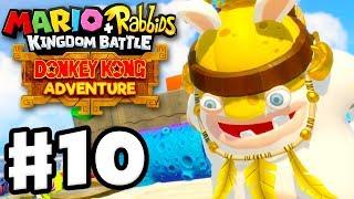 Mario + Rabbids Kingdom Battle: Donkey Kong Adventure DLC - Gameplay Walkthrough Part 10