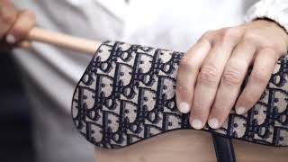 Dior Oblique Canvas Saddle Bag Savoir-Faire