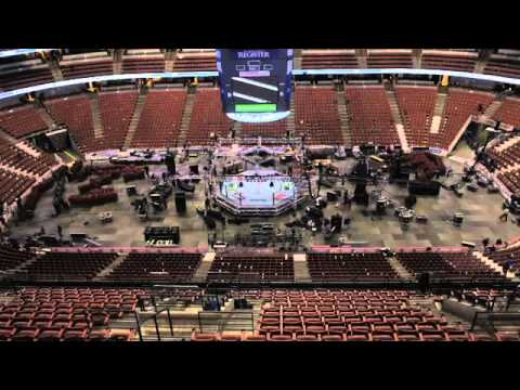 Honda Center Transforms From Ducks Game To Ufc On Fox