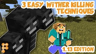 3 ways to safely kill the Wither in 1.13 in under 10 seconds