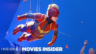 What 8 Marvel Movies Looked Like Behind The Scenes | Movies Insider