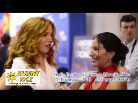 Rachelle LeFevre's Under The Dome Red Carpet interview - YouTube