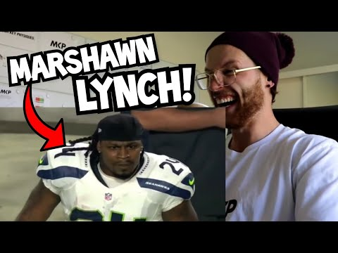Rugby Player Reacts to MARSHAWN LYNCH