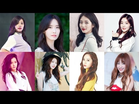 [Top 40] Famous Visual In Kpop Girlgroup 2017 Official
