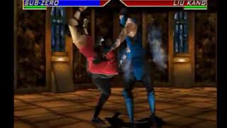 Mortal Kombat 4 (Ps1) Gameplay