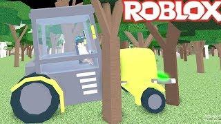 Roblox   Dùng Xe Máy Cày Đi Lấy Gỗ   Woodcutting Simulator   MinhMaMa