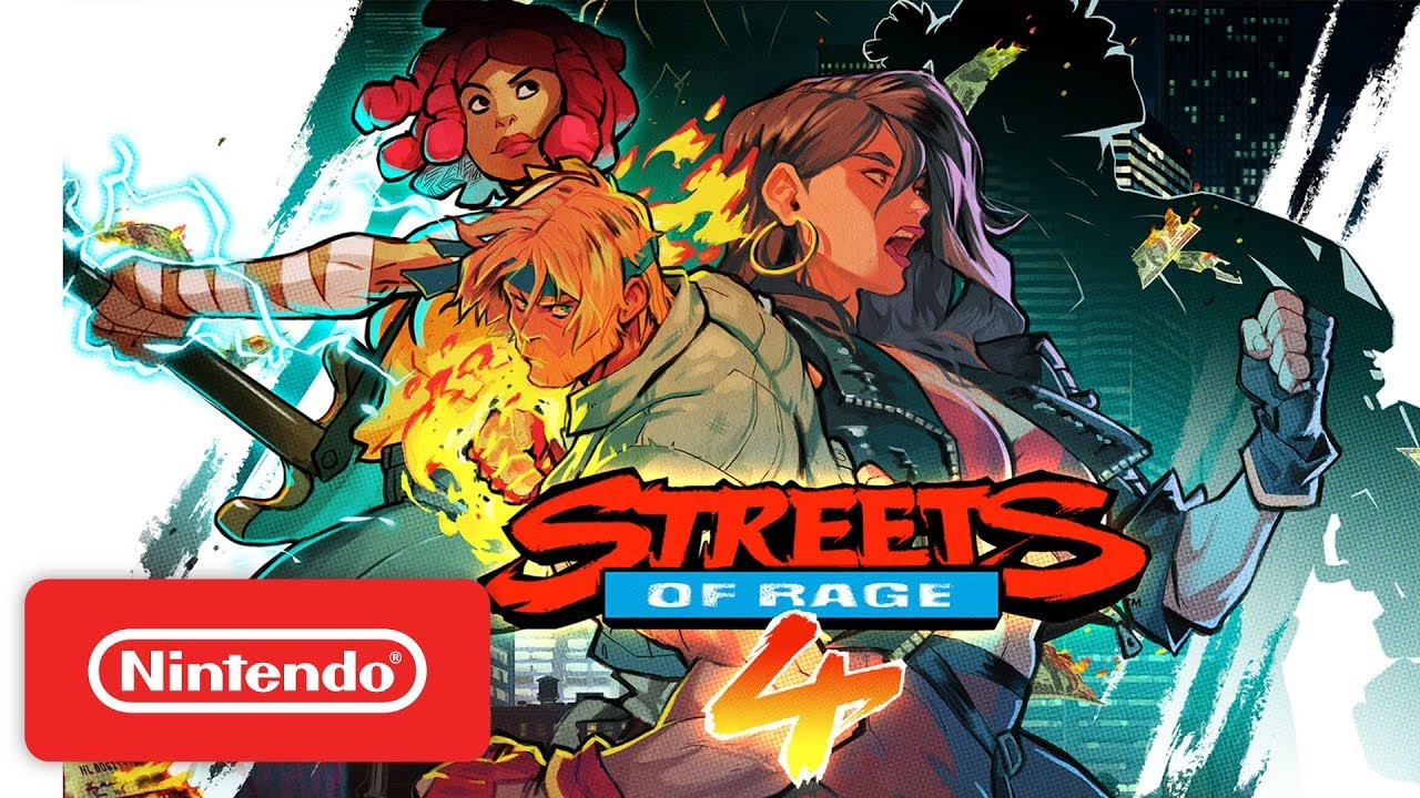 Streets of Rage 4 - Announcement Trailer - Nintendo Switch