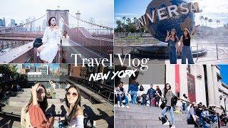 New York Vlog🇺🇸紐約旅行go!!!|TRAVEL Vlog: New York/Orlando, USA