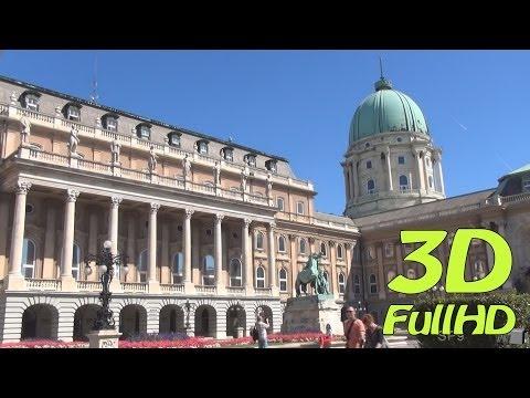 [3DHD] Buda Castle / Budavári Palota / Zamek Królewski, Budapest, Hungary / Magyarország / Węgry