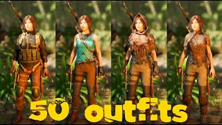 Shadow of the Tomb Raider - All 50 Outfits and Costumes
