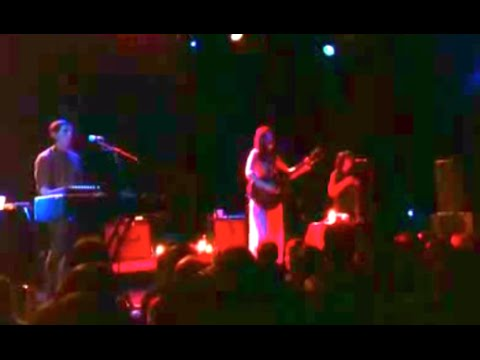 Short clip of Chelsea Wolfe live 1.26.13 Brooklyn,NY