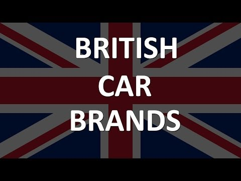 List of British Car Manufacturers