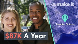 Living Together On $87K USD A Year In Toronto | Millennial Money