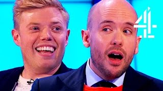 Rob Beckett And Tom Allen On Being At School Together   8 Out Of 10 Cats