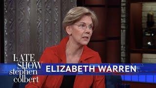 Senator Elizabeth Warren Reacts To Sexual Harassment On Capitol Hill