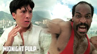 Young Donnie Yen vs. the Final Boss | Rare HD fight from 'In the Line of Duty 4' | Midnight Pulp