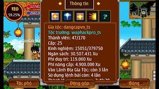 ►[ NSO - TH ] | Khai Mở Nhẫn Thuật 5 Gía 30m Xu  ✔ Trần Hải