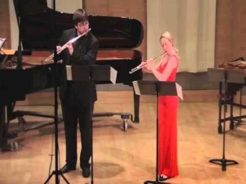 Pathways for Two Flutes.  Elizabeth Talbert, Joshua Romatowski.  SFCM 2013.