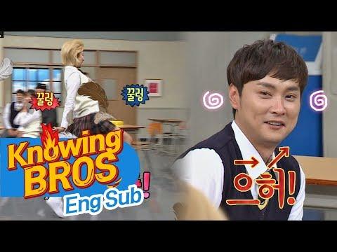 정연(Jeong Eon)이의 타조 춤에 '짝꿍' 경훈(Kyung Hoon)이 혼신의 리액션