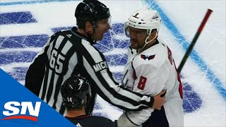 Warren Foegele's Dirty Hit On TJ Oshie Sets Off Alex Ovechkin