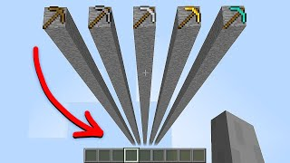 which pickaxe is faster?