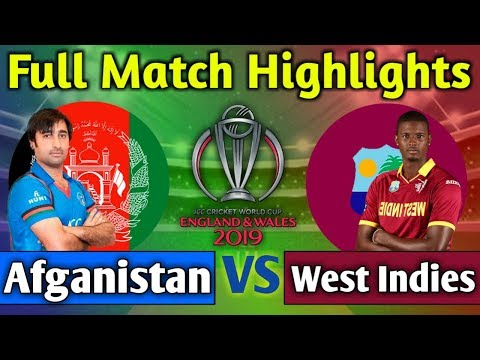 West Indies vs Afganistan full match highlights | WI vs AFG match 2019 highlights