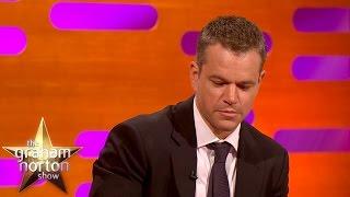 Matt Damon Gets Emotional Talking About Winning An Oscar - The Graham Norton Show