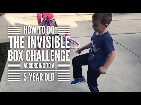 How to Do the Invisible Box Challenge—According to a 5-Year Old