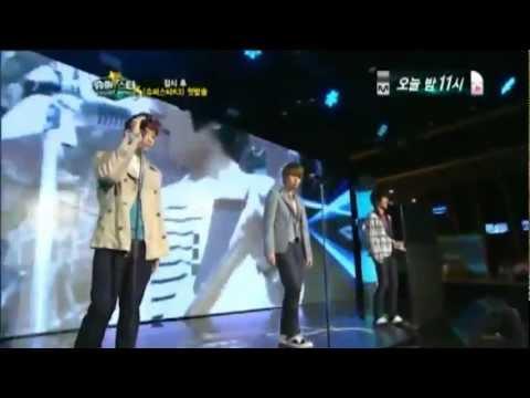 110812 Super Junior K.R.Y. - FLY @ Super StarK3 Premiere Show