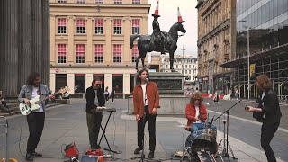 Glass Caves - Chasing a Feeling Live at the Duke of Wellington Statue, Glasgow