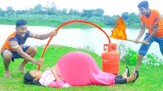 Must Watch New Funniest Comedy Video 2021 Amazing Funny Video 2021 Episode 38 @Villfunny Tv