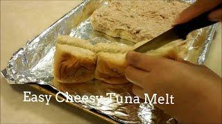 Easy and Cheesy  Tuna Melt
